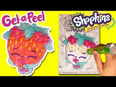 ★Gel-a-Peel Deluxe Kit with SHOPKINS★ DIY Make Your Own Shopkins Strawberry Kiss Gel a Peel Video