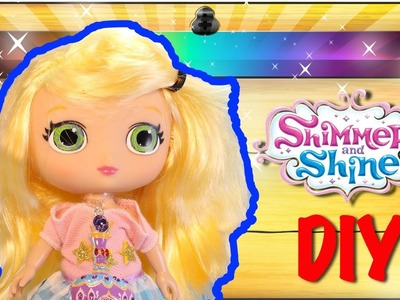 Nickelodeon Shimmer and Shine Toys DIY LEAH DOLL - Make Your Own Shimmer and Shine Dolls