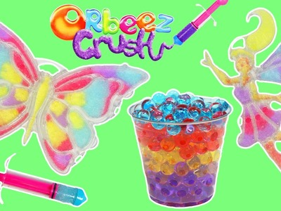ORBEEZ Crush N' Design Butterfly and Fairy Playset DIY Grow & Crush Orbeez Art!