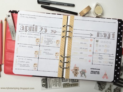 Plan With Me DIY Carpe Diem Planner 4-25 to 5-1
