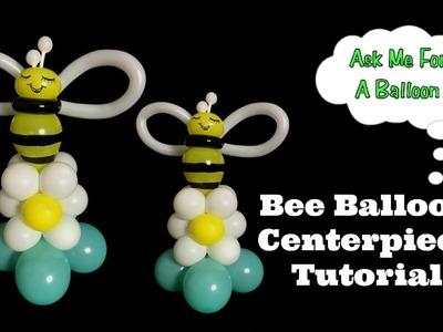 Bee Balloon Centerpiece Tutorial