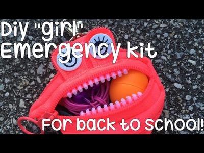 DIY Back To School Emergency Kit 2016!