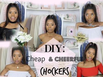DIY Chocker Necklace