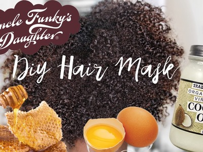 DIY Hair Mask for Naturally Curly Hair | iknowlee