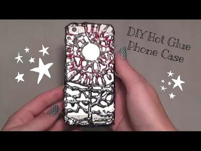 DIY Hot Glue Phone Case