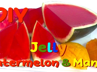 DIY Jelly Gummy Watermelon Mango - How to Make
