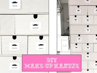 DIY MAKE-UP OPBERGER MAKEN - LIFE OF YVONNE