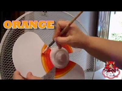 DIY RAINBOW FAN - DIY VENTILATORE ARCOBALENO
