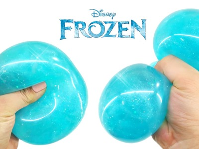 FROZEN Liquid Squishy Ball!! - DIY
