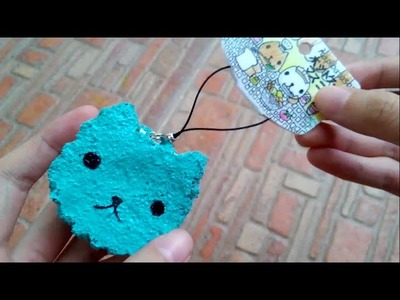 Homemade Squishy Tutorial | Kapibarasan Ice Cream Sandwich