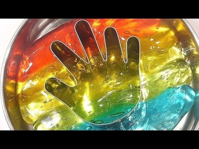 How To Make Rainbow Finger Slime Freeze Learn the Recipe DIY | Kinder Surprise | Finger Family BINGO