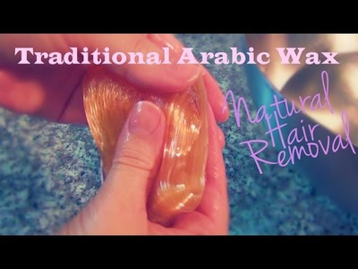 How to Make Traditional Arabic Wax ♥ Sugaring Caramel Recipe and Tutorial
