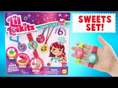 Lil Locketz Sweets Set - DIY Make Your Own Locket Jewelry!