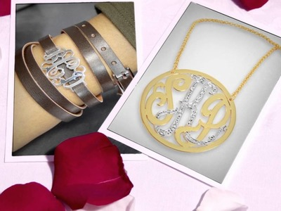 Monogramonline love for personalized jewelry