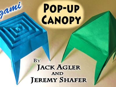 Origami Pop-up Canopy