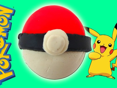 Play Doh Pokemon Go Balls! Yay! Awesome Play Doh Fun DIY