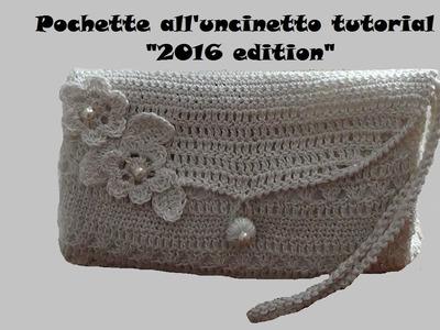 Pochette all'uncinetto tutorial (2016 edition)