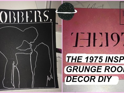 DIY GRUNGE BANDS ROOM DECOR - THE 1975 INSPIRED | Casey Okay