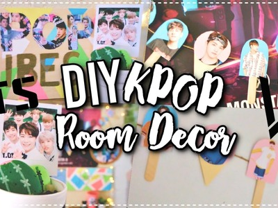 DIY KPOP Room Decor Ideas! | KPOPAMOO