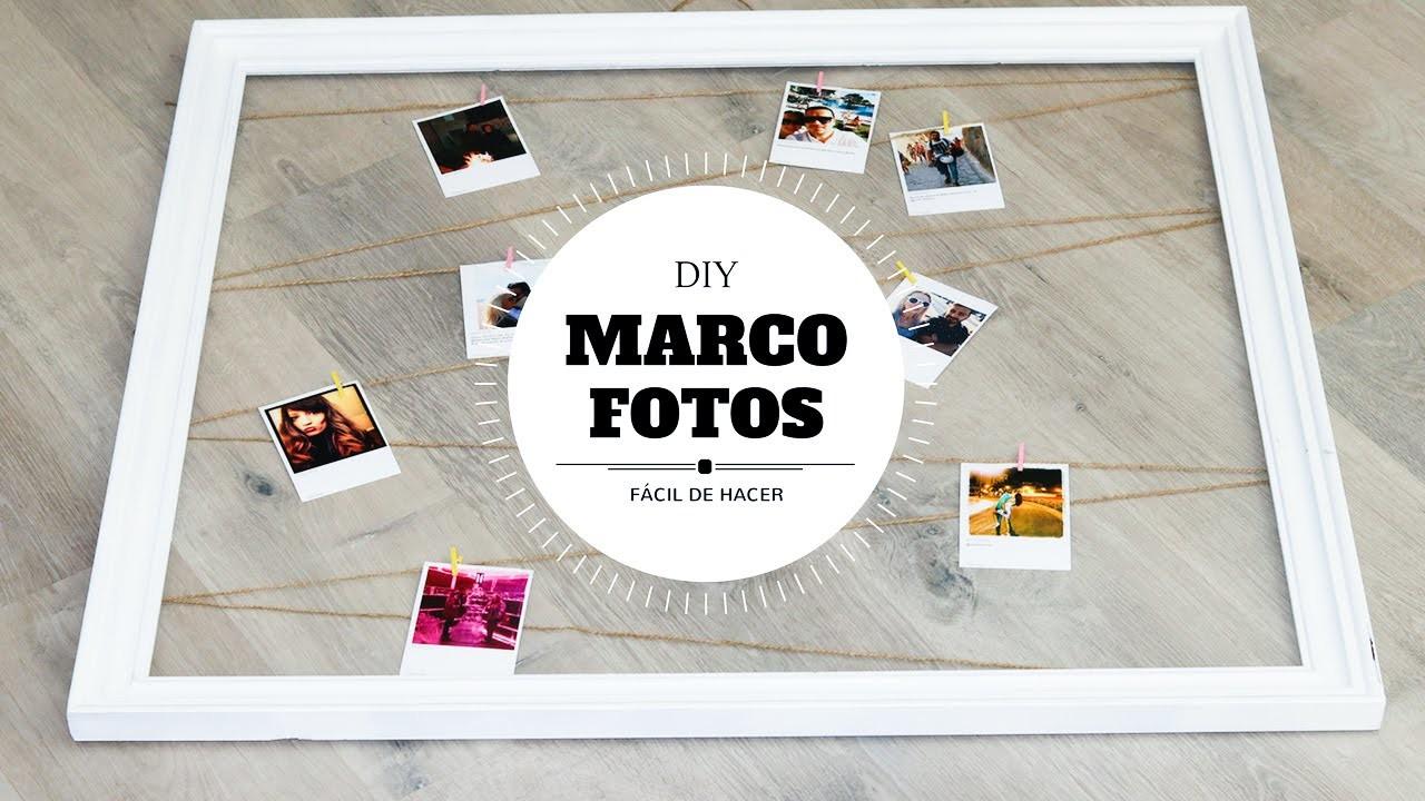 Diy marco de fotos