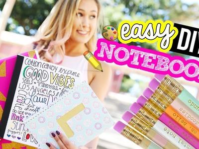 DIY Notebooks for Back to School 2016! | LaurDIY