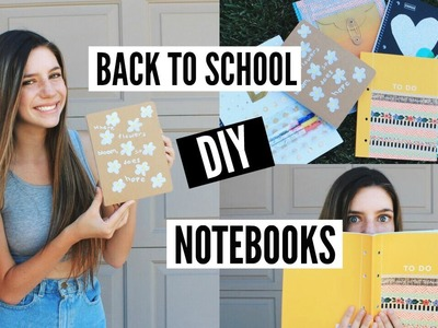 DIY Notebooks for Back To School 2016!