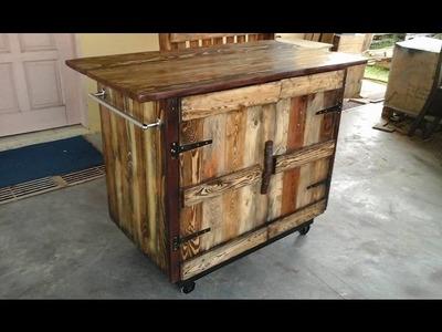 DIY Pallet Kitchen Island Ideas