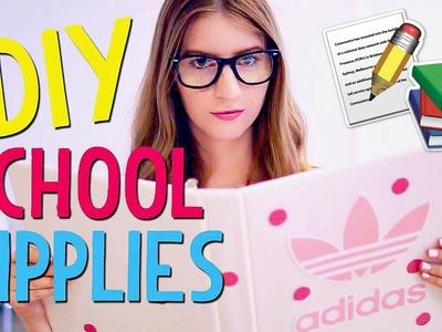 DIY School Supplies for Back to School 2016!! ♡ Abigail