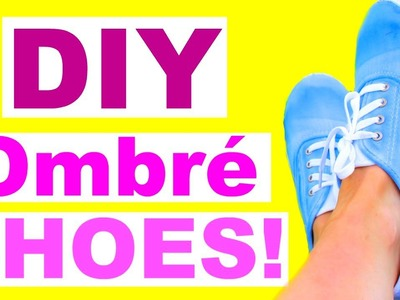 DIY Shoes for Back to School! 2016