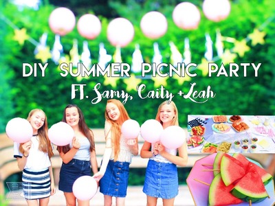 ▲DIY Summer Picnic Party + GIVEAWAY WINNERS!▼