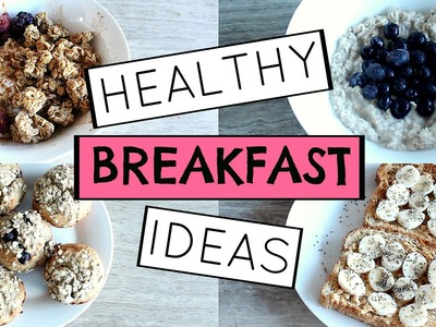 Healthy & Quick DIY Breakfast Ideas For Back To School
