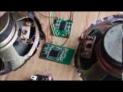 How to make a Wireless 2 0 Bluetooth Speakers