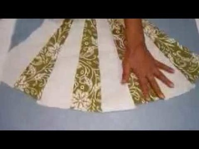 How to make girls dress. cutting and sitching hindi.urdu