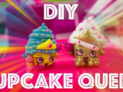 DIY Limited Edition Shopkin Season 1 Cupcake Queen + Shopkins Fashion Show Face Off
