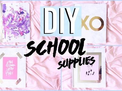 ♡ DIY SCHOOL SUPPLIES! ♡ 2016