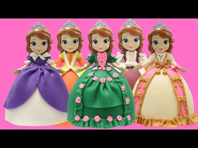 "Play Doh Dresses ""Sofia The First"" Play Doh Craft N Toys"
