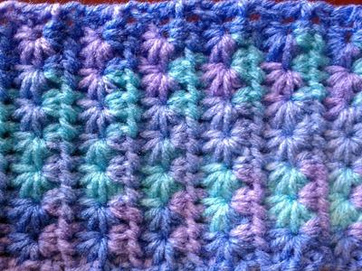 Punto Estrella a Crochet (star stitch) ganchillo