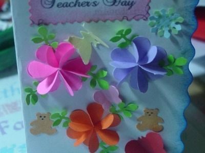 BEST TEACHER'S DAY 2016 - craft ideas, greeting cards, appreciation cards, thank you cards,video6