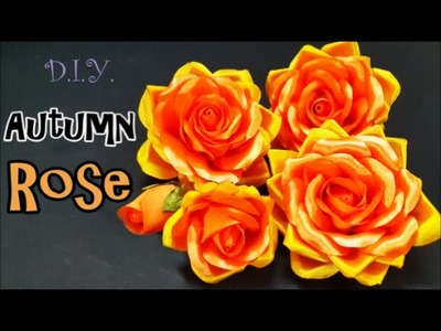 D.I.Y. Autumn Rose | MyInDulzens