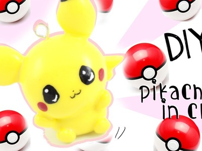 "♡ DIY ""Baby"" Pikachu Charm in CLAY ♡ 
