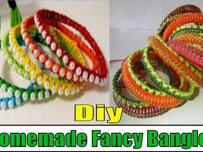 Diy Fancy Bangles at Home August 2016