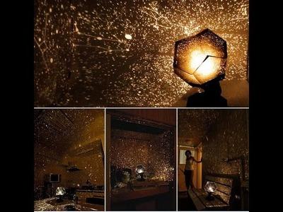 DIY - Fantastic Celestial Star Projector Lamp Night Light
