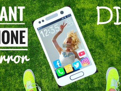 DIY Giant Phone Mirror – How To Make Your Mirror Look Like Giant Smartphone