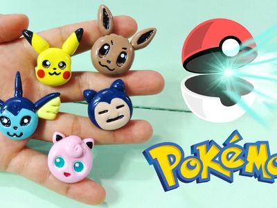 DIY POKEMON GO PIKACHU, EEVEE & MORE! Polymer Clay Tutorial