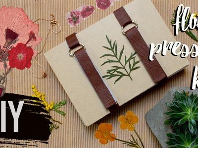 DIY Pressed Flower Kit