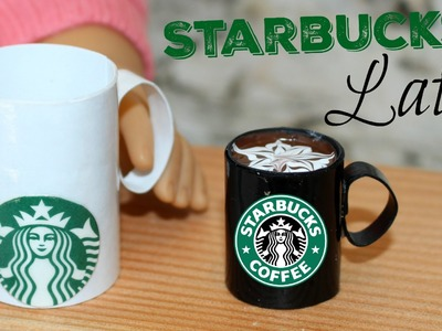 DIY Starbucks Latte | American Girl Doll Craft | Starbucks Coffee Mug
