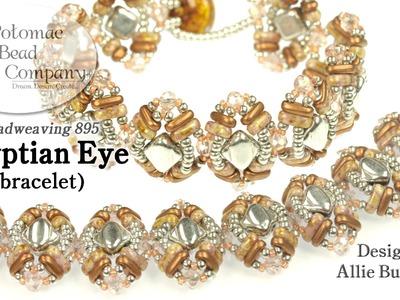 Egyptian Eye Bracelet (DIY Tutorial)