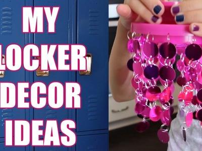 My Middle School DIY Locker Ideas!