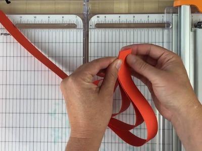 Paper Pumpkin Craft Tutorial