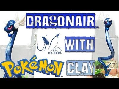 Pokemon Go DIY - How to make Dragonair with Clay - Tutorial Fimo - E30 Prochima Resin